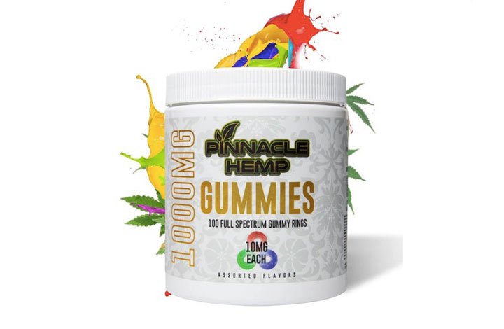 Pinnacle Hemp Full-Spectrum Gummies 200