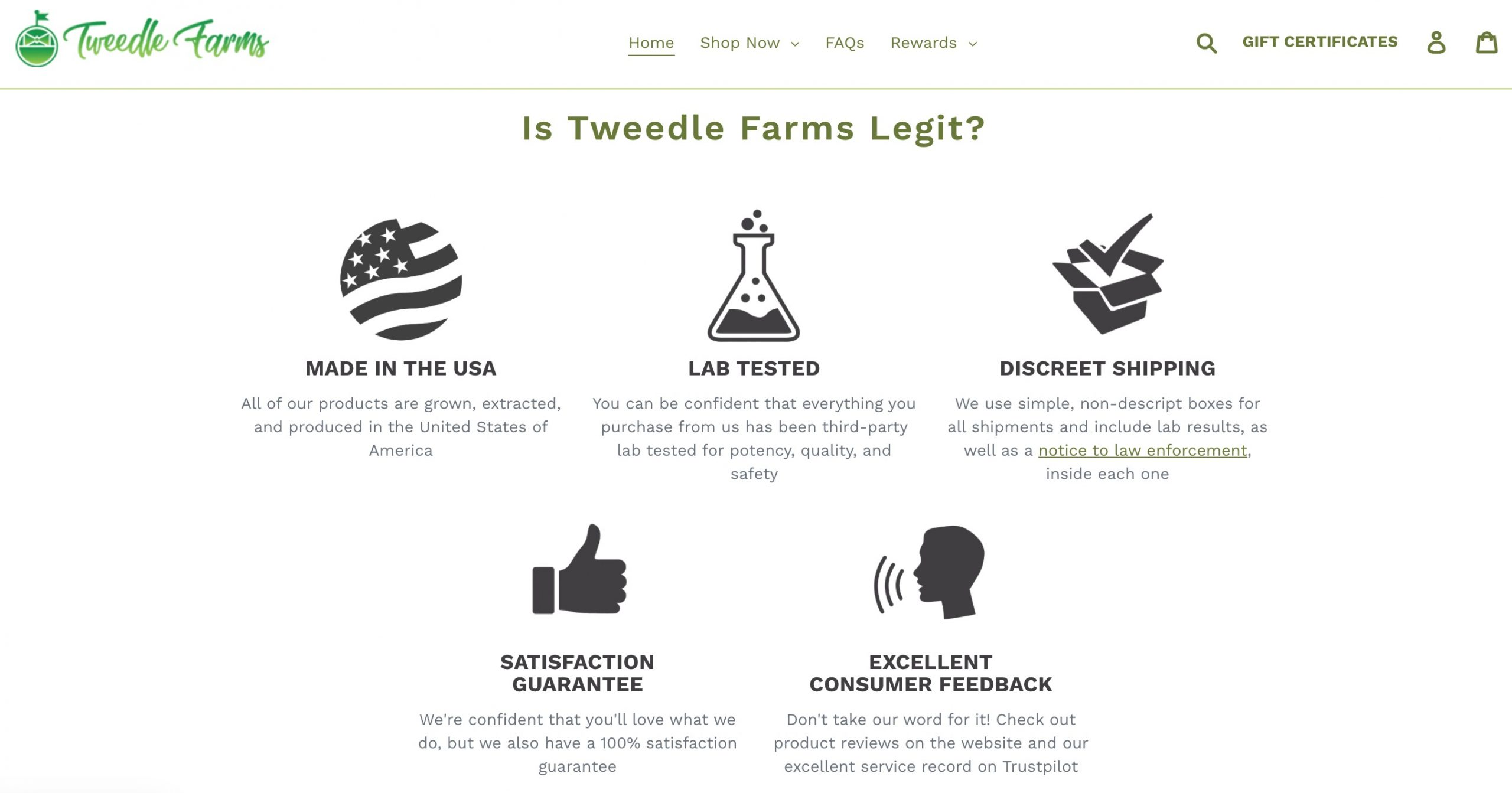 tweedle farms legit